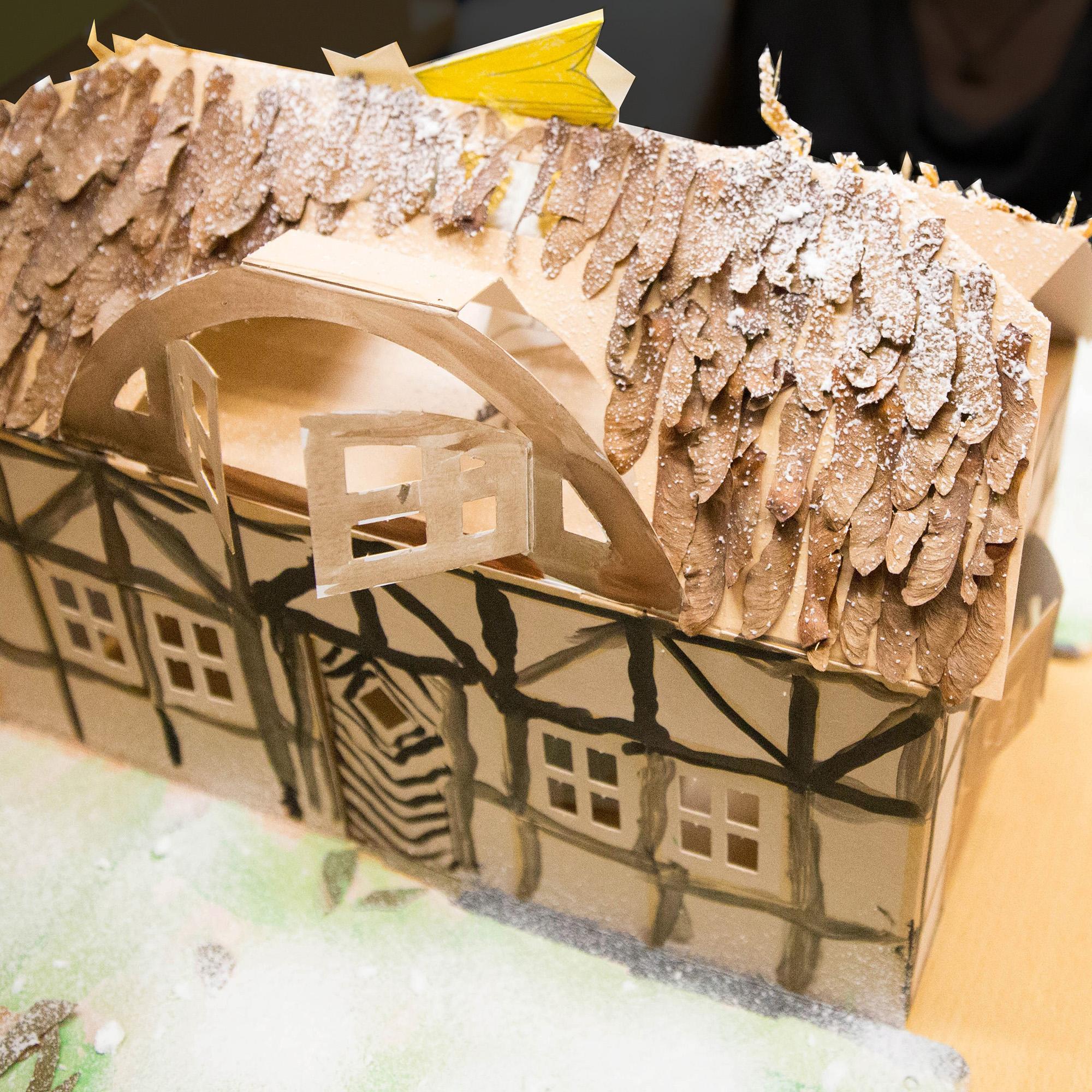Kinder bauen Haus